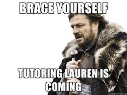 tutoring lauren